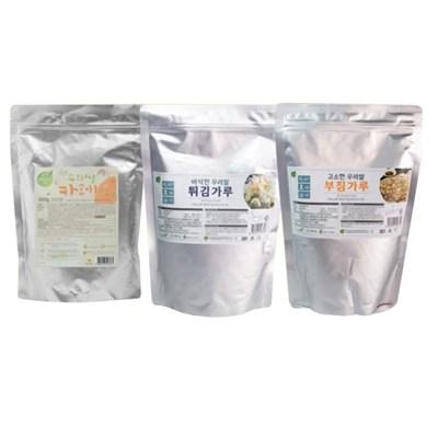 [농사랑]홍성 우리쌀부침세트 부침가루500g + 카레가루5