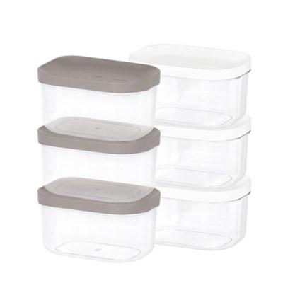 리템 냉장고 소분 정리 수납 플라스틱 밀폐 용기 1호 (3개입)