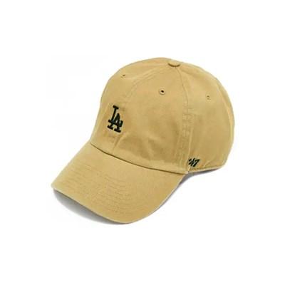 47브랜드 스몰로고 LA 다저스 클린업 카키 / KHB