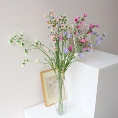 고급스러운 캄파놀라 인테리어 조화꽃장식(4color)