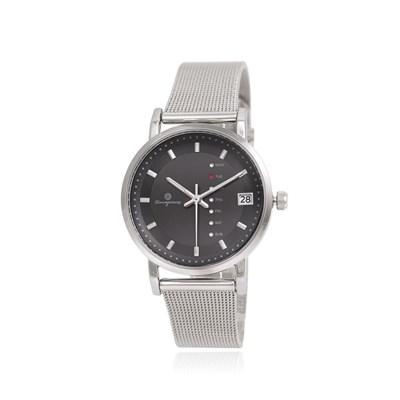 [Timepieces] 요일변경 실버 남녀공용 메쉬시계 OTC320804TSS