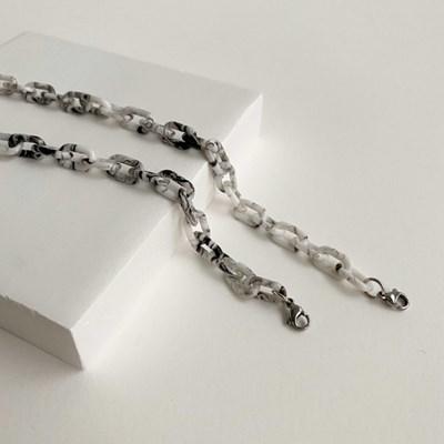 [마스크줄]Marvel chain-White