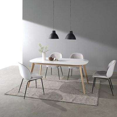 [폴앤코코] 베일리 1600 라운드 식탁 테이블 화이트_(1069601)