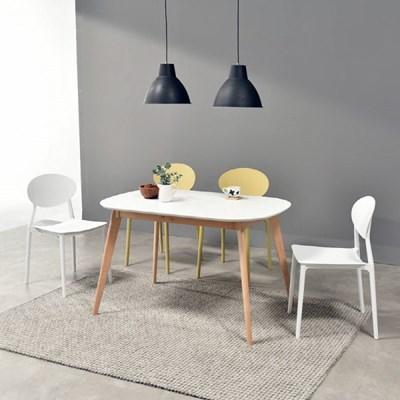 [폴앤코코] 베일리 1400 라운드 식탁 테이블 화이트_(1069556)