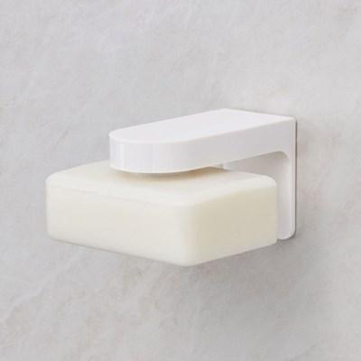 H닷 심플화이트 자석비누홀더 생활용품 욕실 화장실