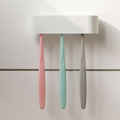 H닷 심플화이트 칫솔걸이 생활용품 칫솔보관 욕실 화장실 칫솔꽂이