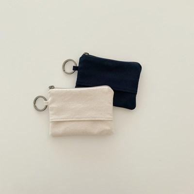 오픈포켓 카드지갑-캔버스(open pocket card wallet-canvas)