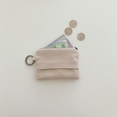 오픈포켓 카드지갑-코듀로이(open pocket card wallet-corduroy)