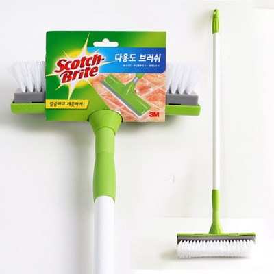3M 스카치브라이트 다용도 브러쉬(스틱형)  청소솔 바닥솔 욕실청소