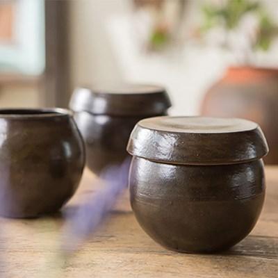 옹기 양념통(소)