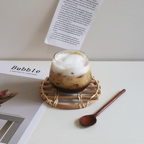 등나무 컵받침 라탄코스터