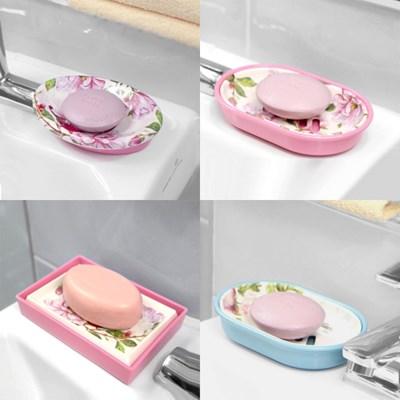 고급 물빠짐 비누받침대 수세미 욕실 주방