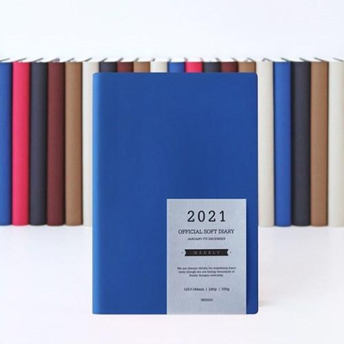 2021 오피셜 소프트 다이어리-위클리 (날짜형,32절)