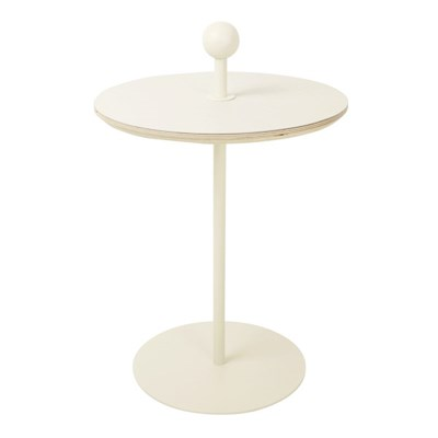 Plain Table 3 - Ivory