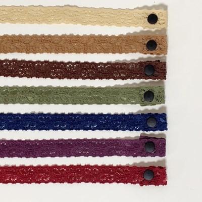 [4개세트][16color] 여리여리 레이스 고무줄 마스크 목걸이 스트랩