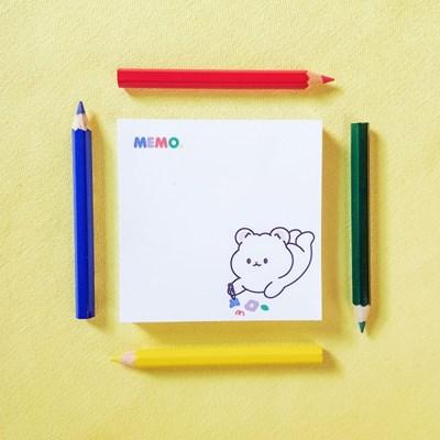 Crayon Day 메모지