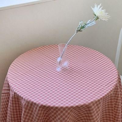 레드 체크 테이블보 식탁보 2size