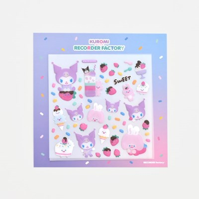 TRF x SANRIO WATER STICKER - STRAWBERRY CAKE