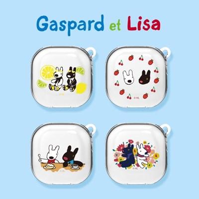 가스파드와리사 버즈라이브&프로(공용) 투명 케이스(무료배송)