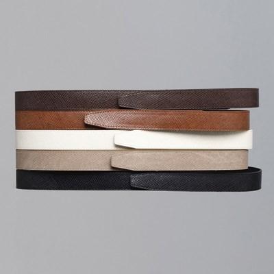 매직 벨크로 벨트 찍찍이 심플 남자 캐주얼 belt 5 color