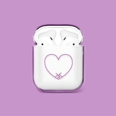 Heart Together Purple 에어팟/에어팟프로 케이스