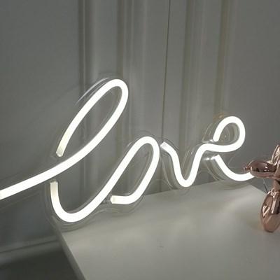 LED 네온사인 LOVE 러브 레터링 아트네온 LED무드등