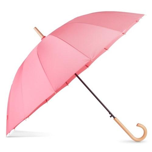 까르벵 16살대 마카롱 우드 장우산