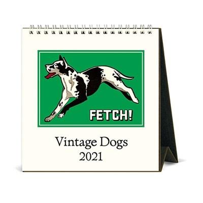 2021년 데스크캘린더 Vintage Dogs