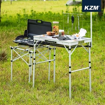카즈미 마스터 키친테이블 K20T3U012 / 버너 랜턴스탠드 접이식