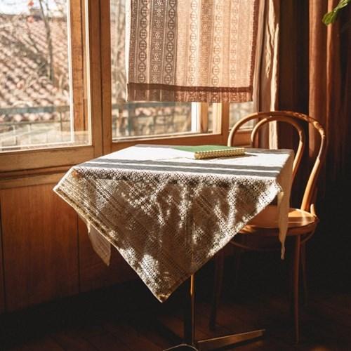 [할머니를 위한 기부]줄무늬 테이블보
