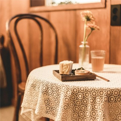 [할머니를 위한 기부]꽃송이 테이블보