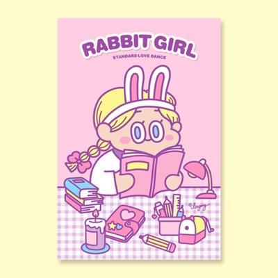 [LEEGONG] 엽서 -  RABBITGIRL1 VER.