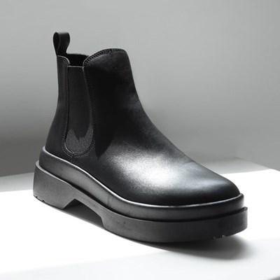 파스코로젠 로크 더블솔 첼시부츠 블랙 [250~280mm]_(1951221)