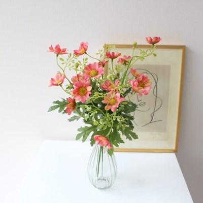 빈티지 데이지 야생화 들꽃 인테리어 조화꽃장식(5color)