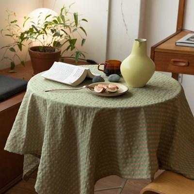 온더그린스쿨 식탁보 테이블보 2size 테이블러너