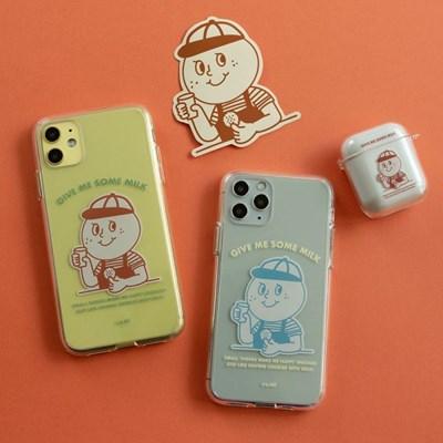[Phone case] Milk