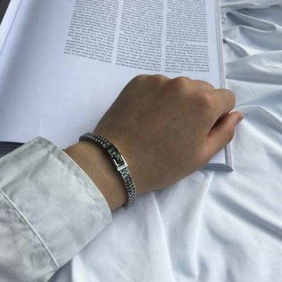 남자 패션 팔찌 실버 Suit bracelet_(1210181)