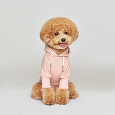 플로트 스탠다드 후드 핑크 강아지옷_(898220)
