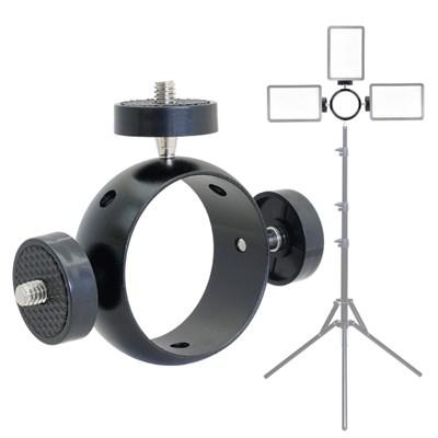 KP-034 트리플 링 브래킷 마운트 (카메라 액션캠 조명 삼각대 등)