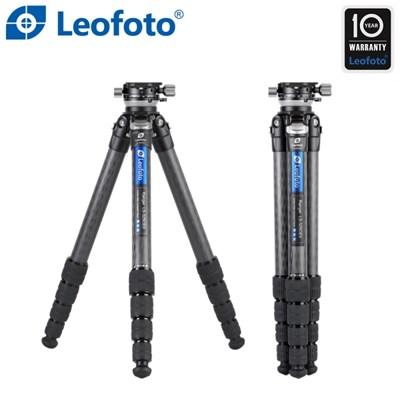 레오포토 LS-325CEX+RH-2L 10X 카본삼각대 레벨링