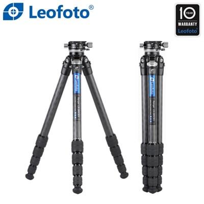 레오포토 LS-285CEX+RH-1L 10X 카본삼각대 레벨링