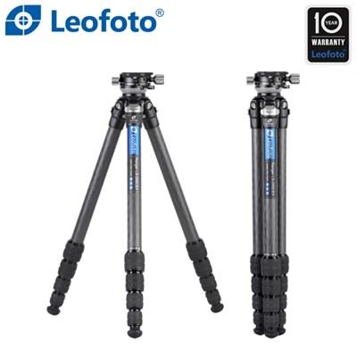 레오포토 LS-255CEX+RH-0 10X 카본삼각대 레벨링
