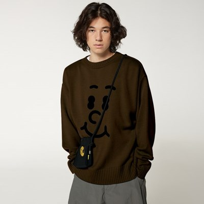 [FW20 SV X Sandomi Studio] Hucle Face Knit(Brown)_(794260)