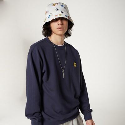 [FW20 SV X Sandomi Studio] Hucle Sweatshirts(Navy)_(794266)