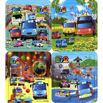 12 16 18 22조각 판퍼즐 - 꼬마버스 타요 (4종)
