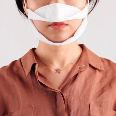 투명마스크 청각장애인 립뷰 비말차단 수화용 마스크
