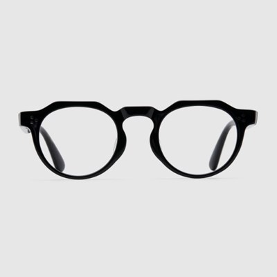 GINA black 안경 블루라이트차단 남자 뿔테 연예인_(2397732)
