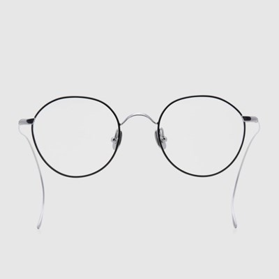 ORA silver-black 안경 남자 베타 티타늄 여자 동그란_(2397715)