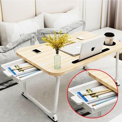 1인용 서랍형 좌식 접이식 테이블 노트북 책상