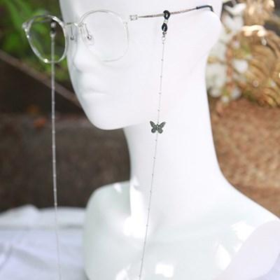 써지컬스틸 볼체인 나비p 안경줄 마스크걸이 겸용